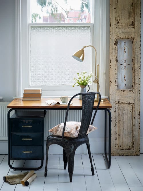 cool shabby chic home office decor | Shabby-Chic Home Decor Style Guide for 2019