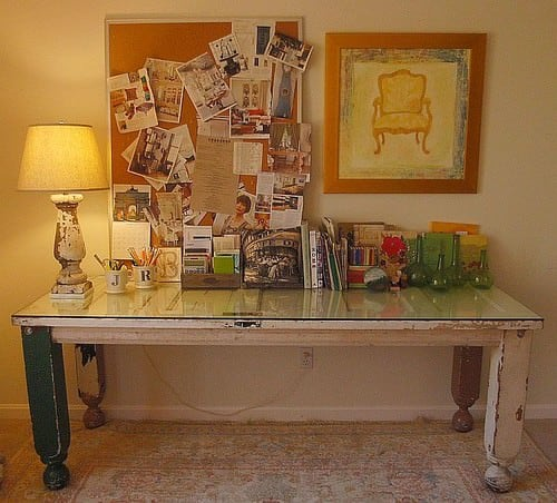 21 Shabby Chic Home Office Designs Decorating Ideas: Shabby-Chic Home Decor Style Guide For 2019