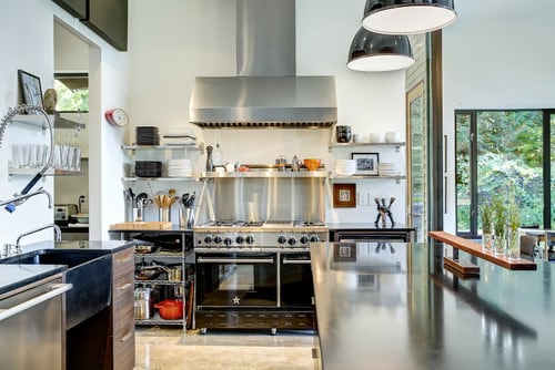 industrial kitchens design 40 industrial kitchen ideas for 2019 1849