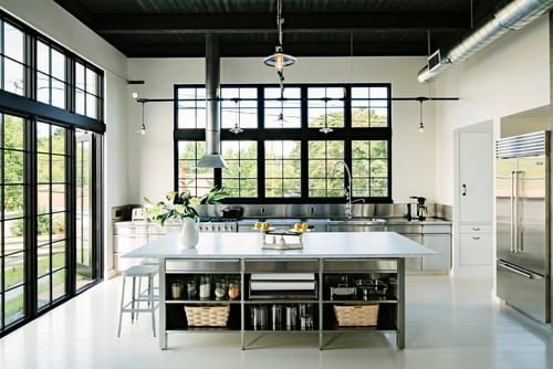 40 Industrial Kitchen Ideas for 2018