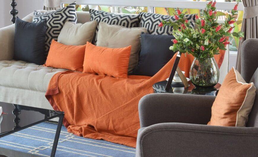 40 Orange Living Room Ideas (Photos)