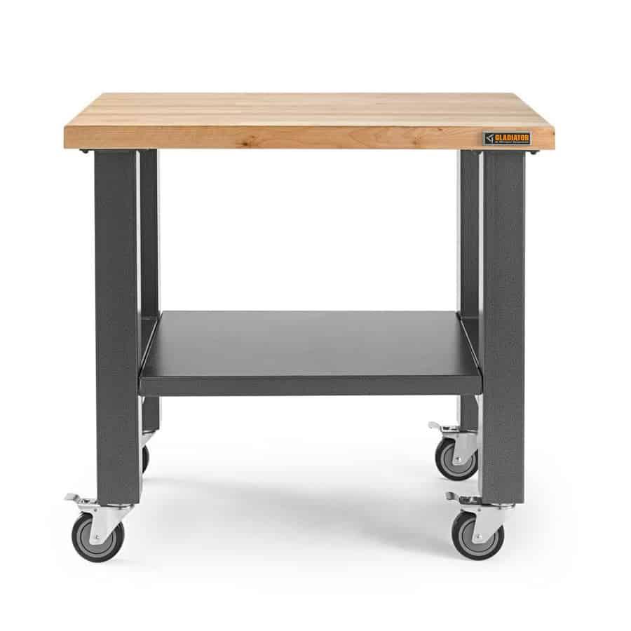Gladiator hardwood work table.