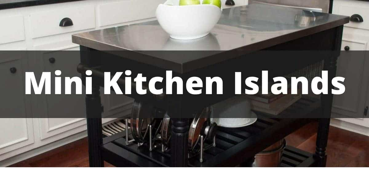 Mini kitchen islands on wheels