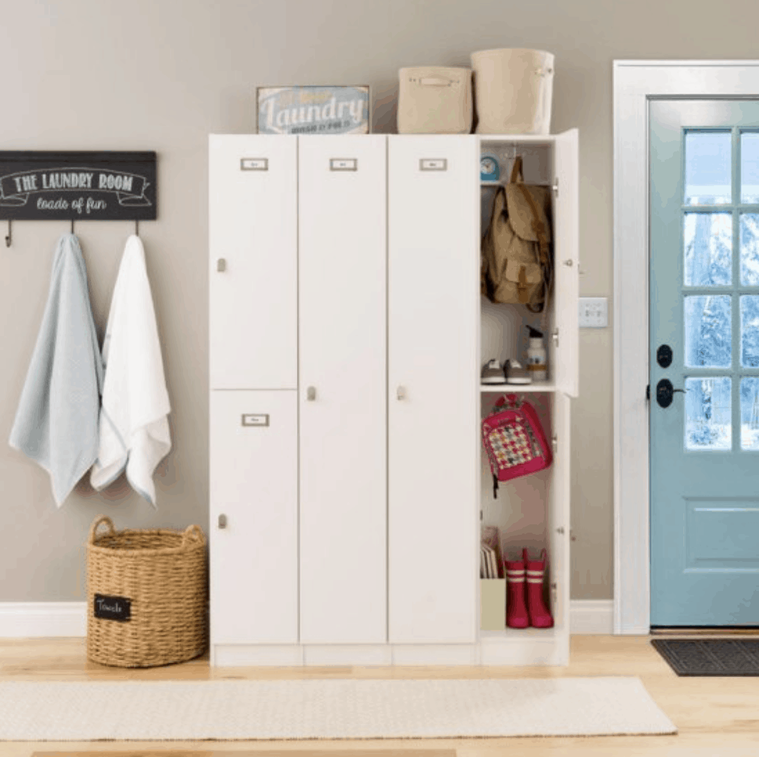 Mudroom Lockers With Doors