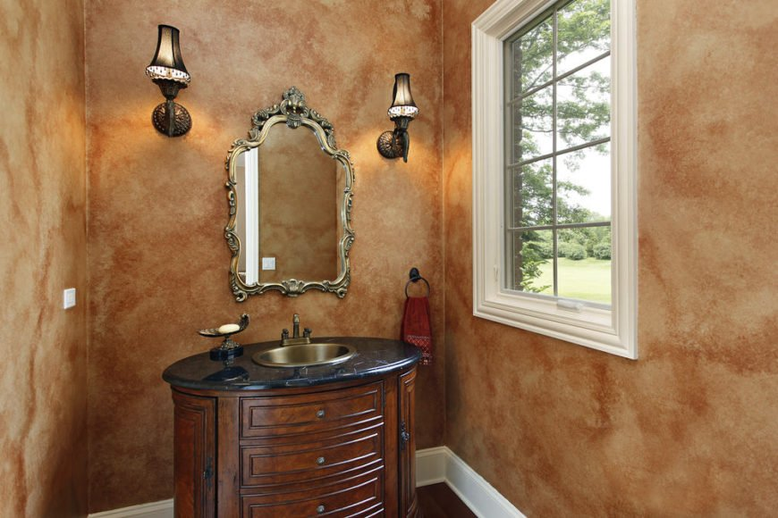 Powder room small bathroom