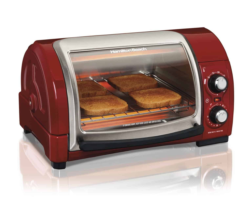 Easy Reach Toaster Oven by Hamilton Beach