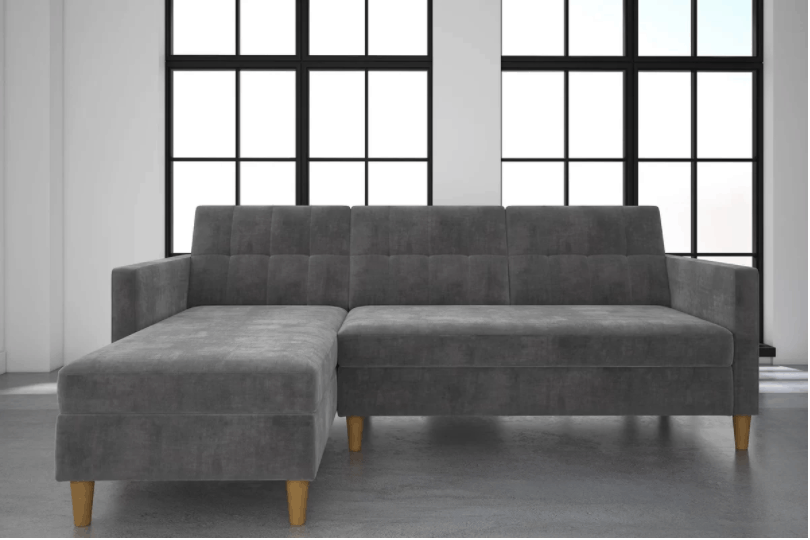 small sectional couch. Small Contemporary Sectional Sofa Couch