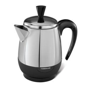 Small 4-cup capacity Faberware coffee maker