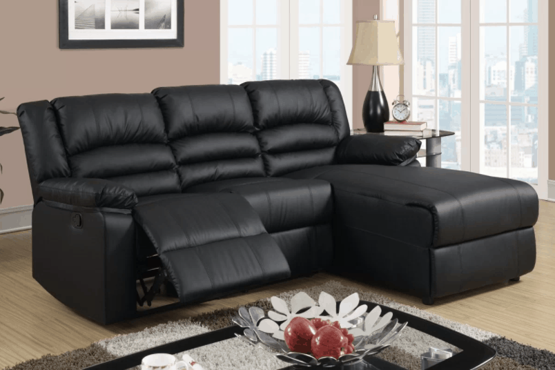 Reclining Sofa Sectionals For Small Spaces Small recliner sectional sofa
