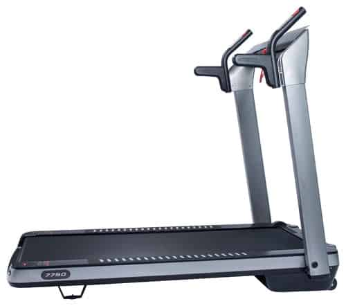 SpaceFlex Motorized Running Treadmill with Auto Incline