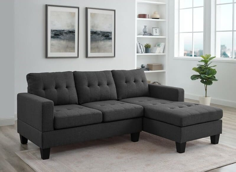 The Amant Wide Right Hand Facing Sofa with Chaise from Wayfair.
