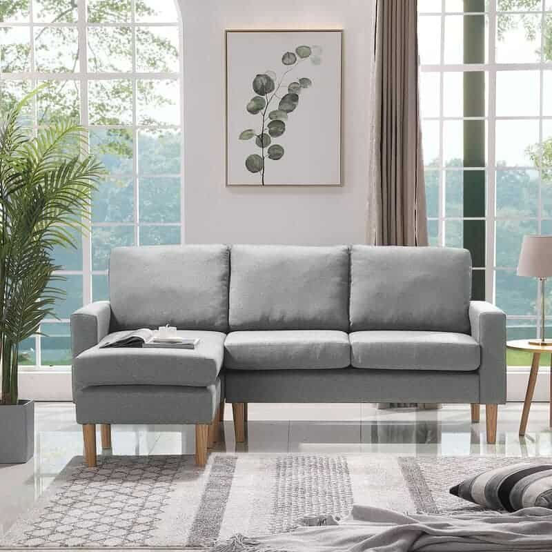 The Corda Wide Left Hand Facing Sofa and Chaise from Wayfair.