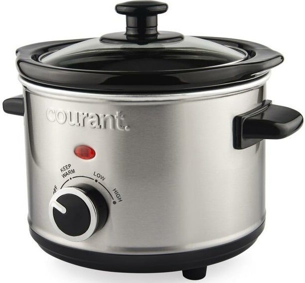 The Courant Stainless Steel Slow Cooker from Wayfair.