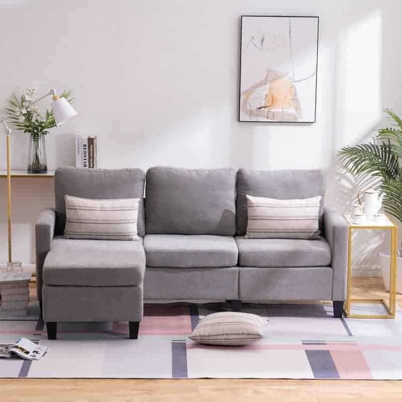 The Epitome Wide Reversible Modular Sofa and Chaise with Ottoman from Wayfair.