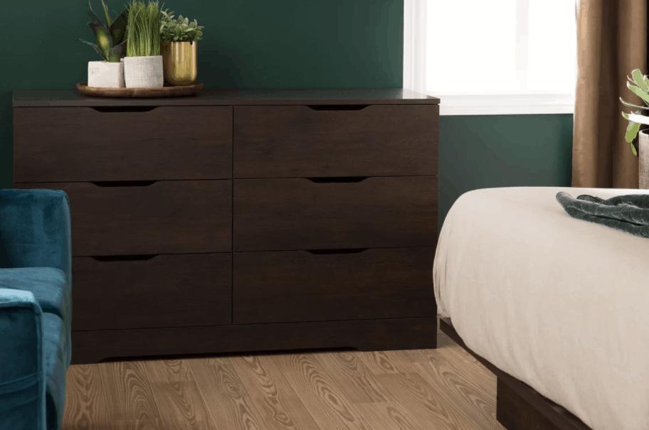 Wood dresser under $200