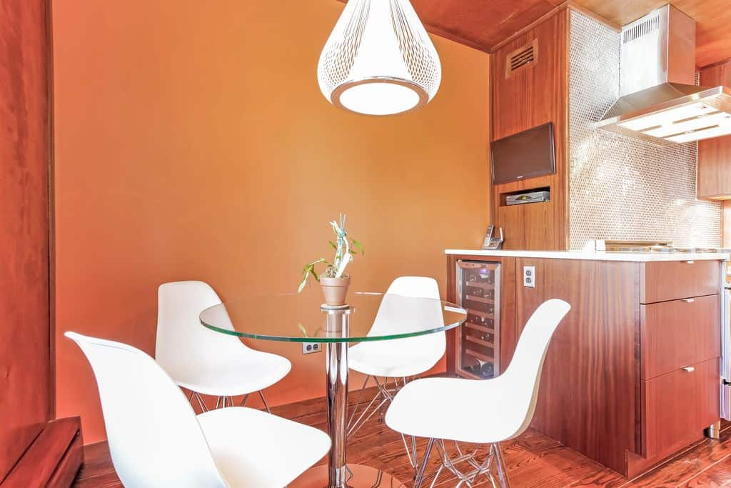 Orange Dining Room Chairs We Here At Eclectic Living Love