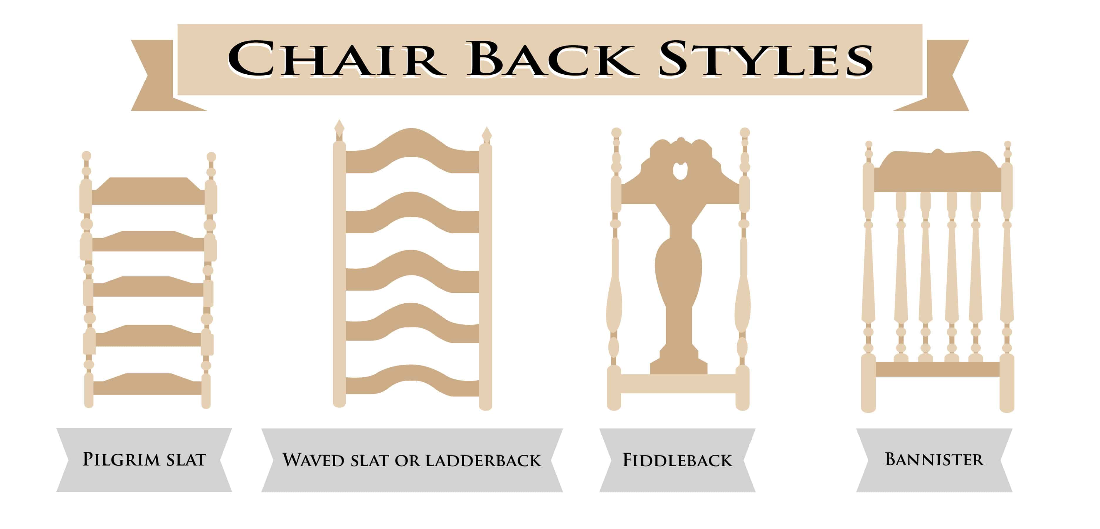 The Ultimate Chair Back Styles Guide 24 Illustrated