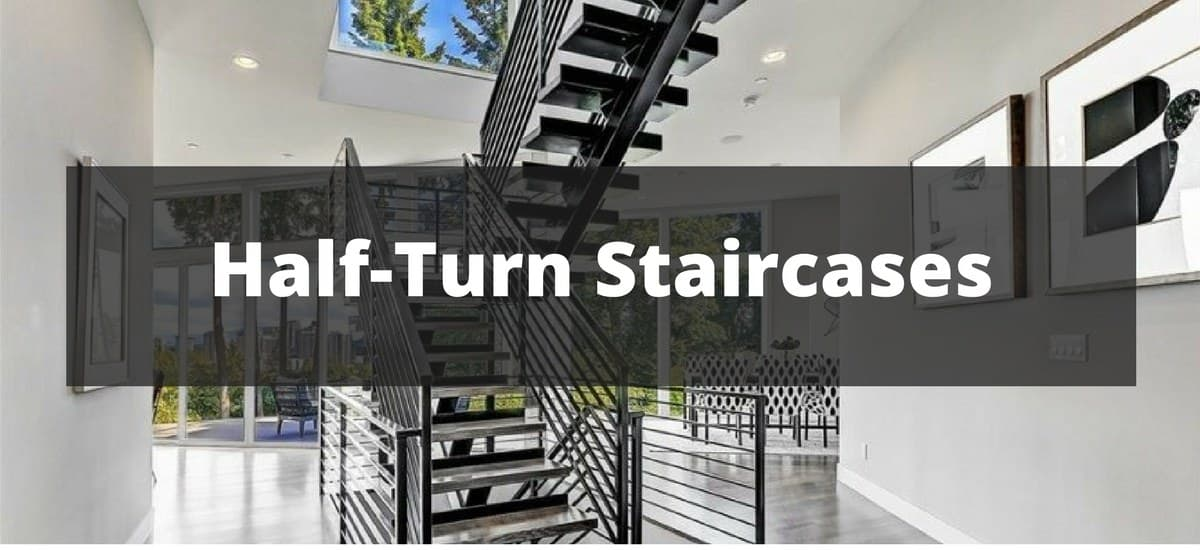 45 half turn staircase ideas for 2019 rh homestratosphere com