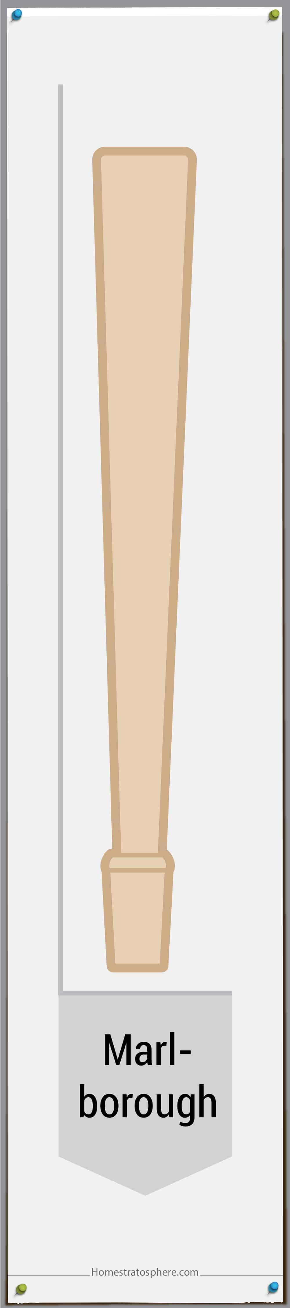 Marlborough leg style