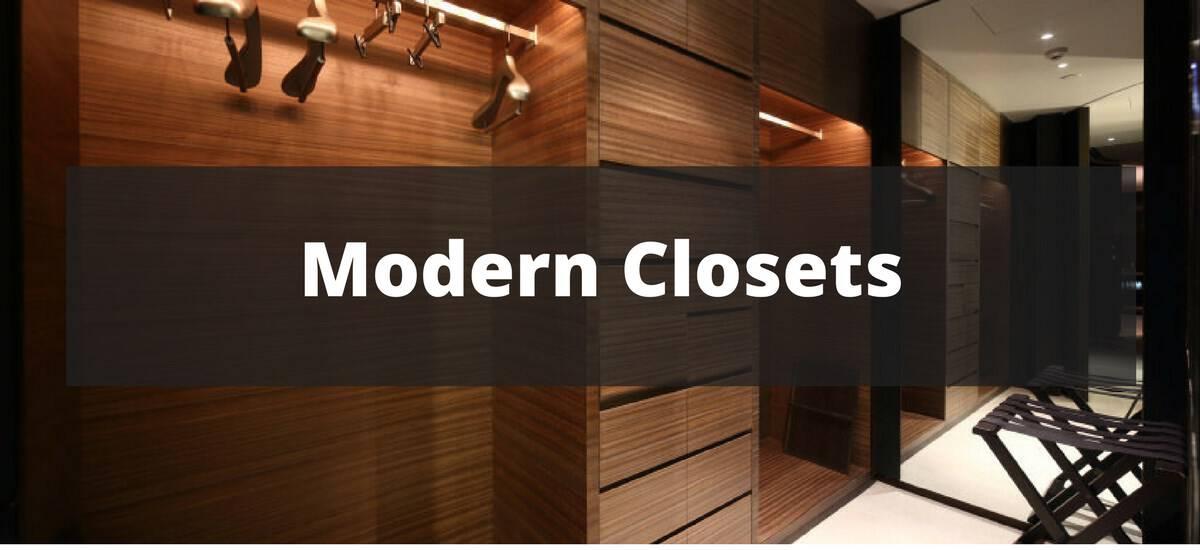 30 Modern Closet Ideas for 2018