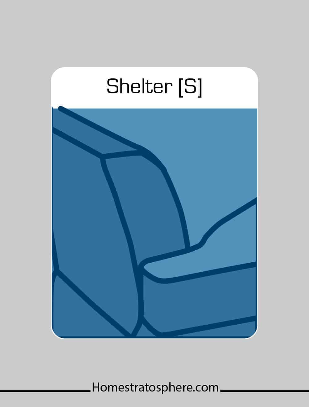 Shelter sofa arm style