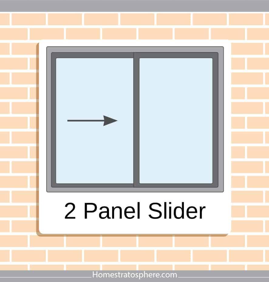 2-panel window style