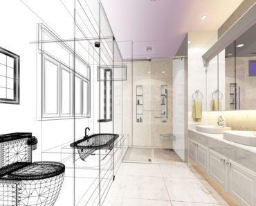 Bathroom design with software tool