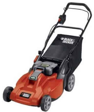 A powerful, cordless lawn mower with an impressive, removable battery.