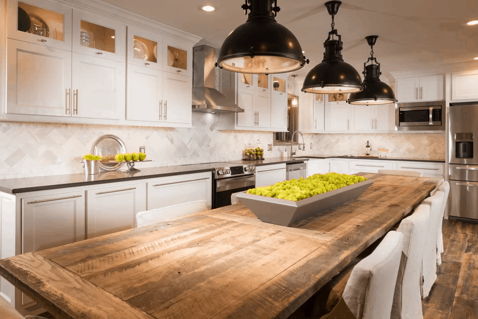 100 Kitchen Designs With In Kitchen Tables And Chairs