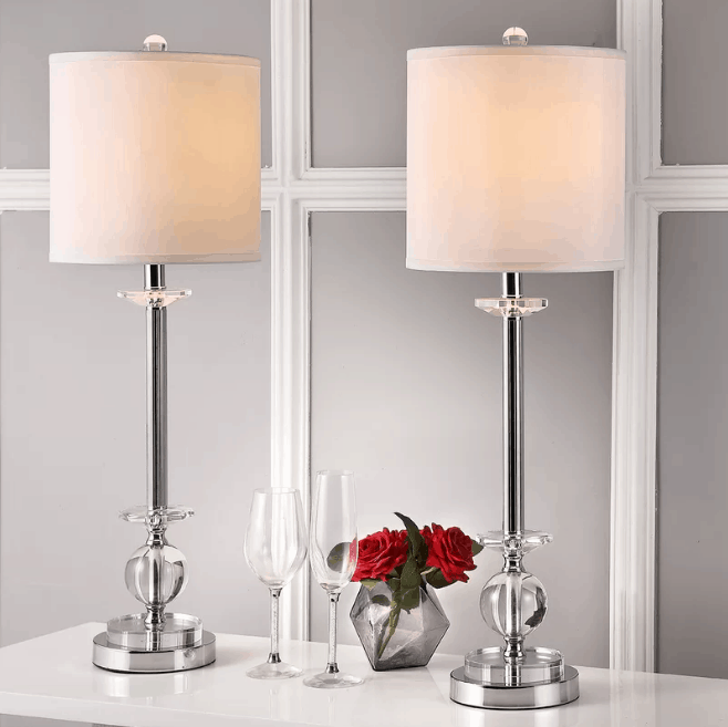 Marla candlestick 31″ table lamp