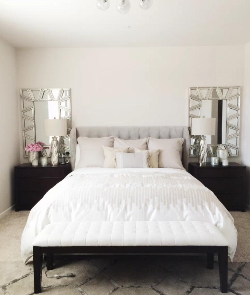Glam Bedroom Design Photo By Wayfair: 410 Medium-sized Master Bedroom Ideas For 2019