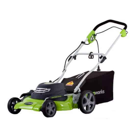 A corded electric lawn mower that can guarantee a continuous usage.