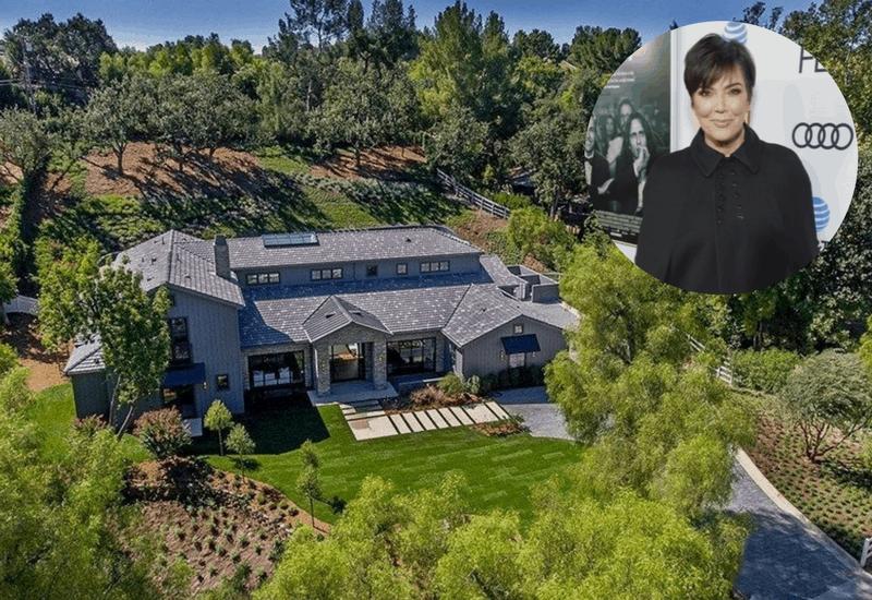 Kris Jenner's Hidden Hills Home ($9.925M)