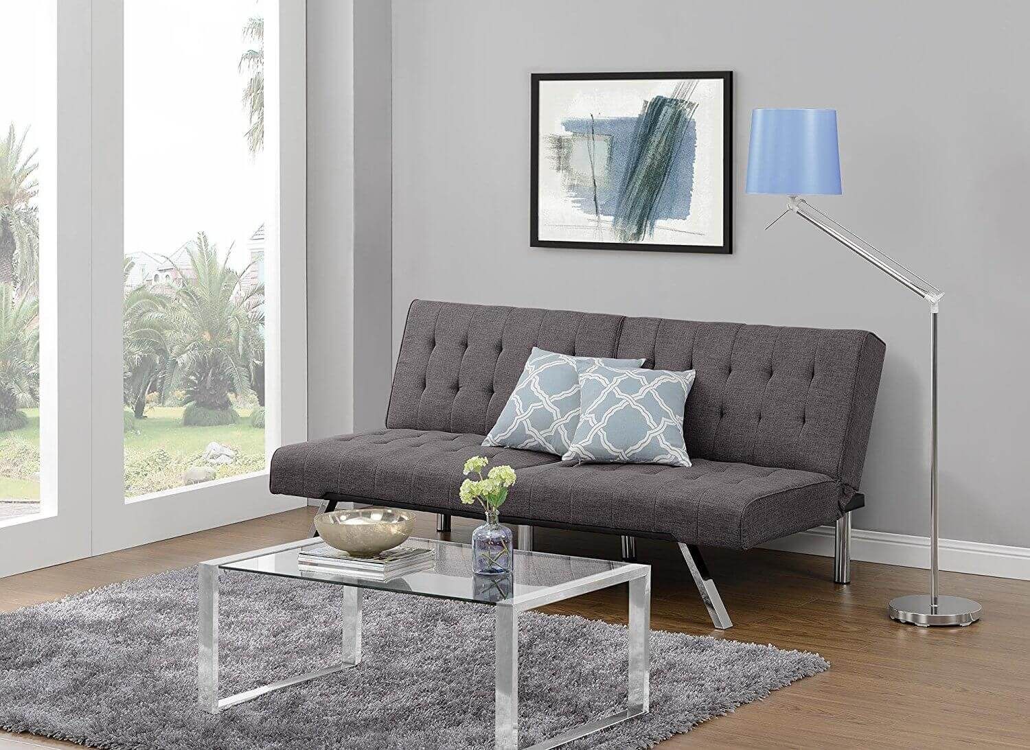 dhp emily futon sofa bed 14 outstanding small couch options for 2018  rh   homestratosphere