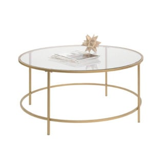 Small coffee table oozing with elegance in its minimalistic, classy finish.