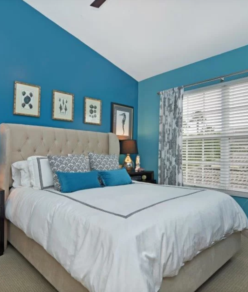 . 100 Blue Bedroom Ideas for 2019