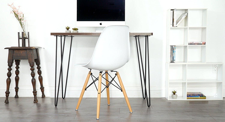 Small office desks.