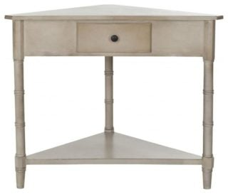 Small traditional console table.