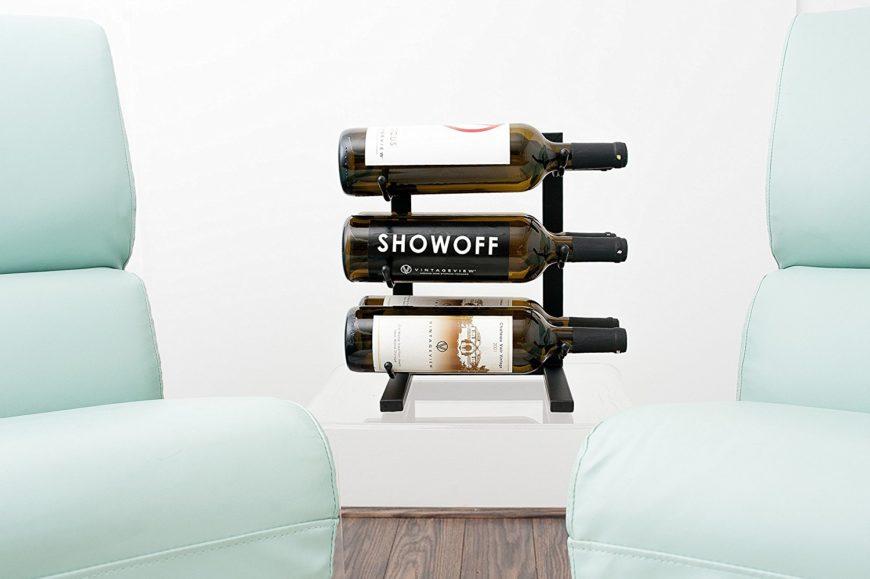 Small wine racks.