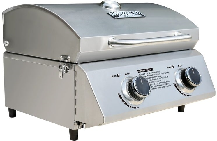 The Monument Grills 19-inch tabletop gas grill from Wayfair.