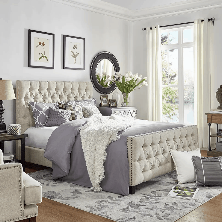 Bedroom Decorating Tips: 410 Medium-sized Master Bedroom Ideas For 2019