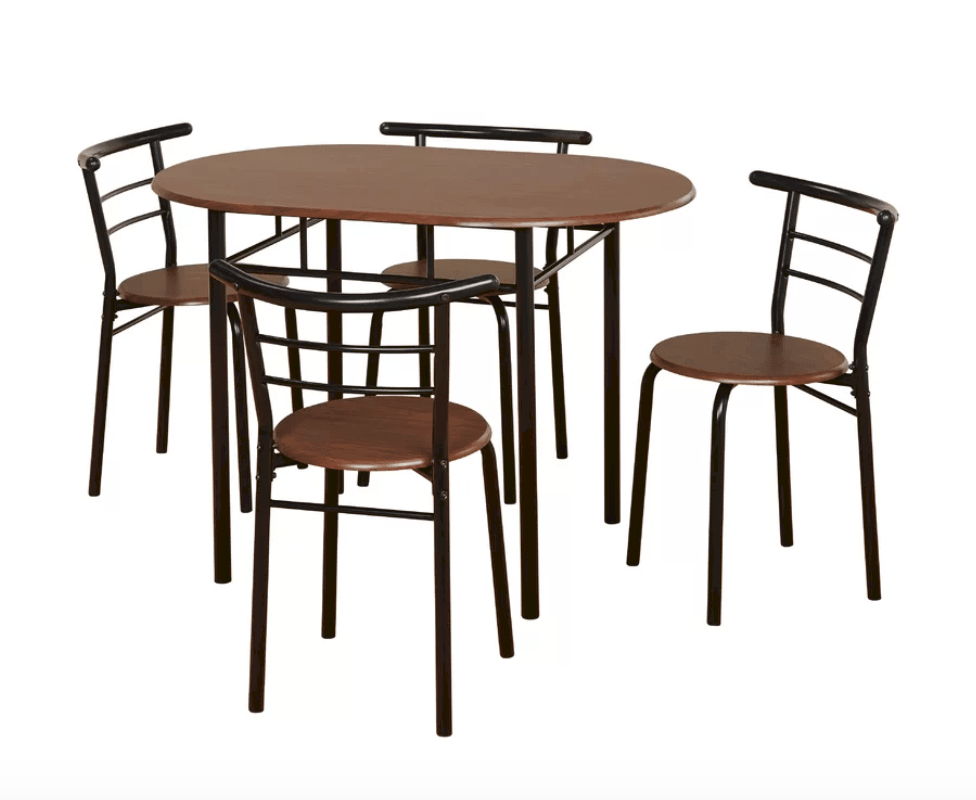 Oval kitchen dining table under $200