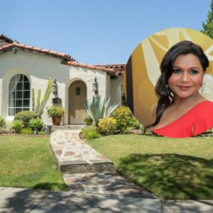 Mindy Kaling West Hollywood Home