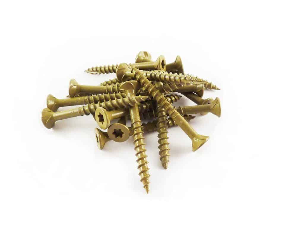 TORX all purpose wood construction screw.