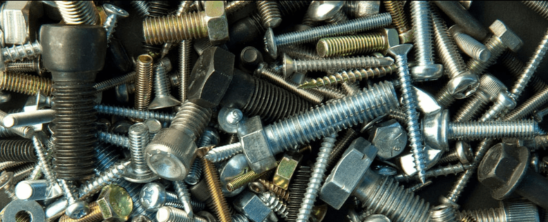 Batch of screws and bolts