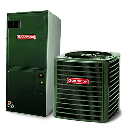2.5 ton airconditioning system with green finish.