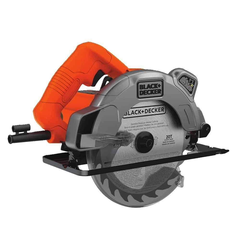 13 Amp circular saw with laser.