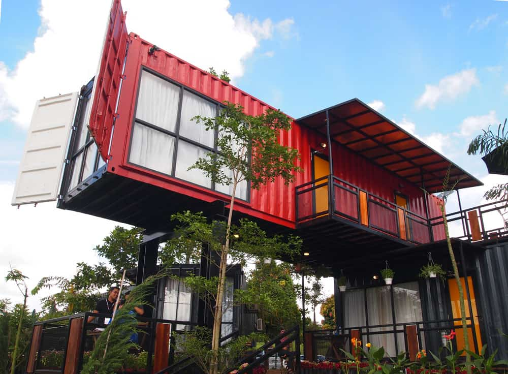Red container home (2 story)