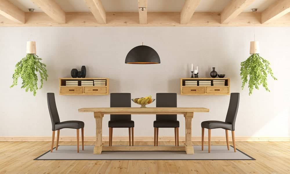 Wood Dining Room Table For 6 People