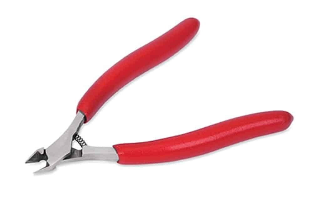 Tapered head electricians pliers.